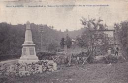 BRISCOL - EREZEE : Monument élevé En L'honneur Des 9 Martyrs Fusillés Ou Brûlés Par Les Allemands