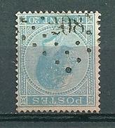 18 Gestempeld PT 208 LANKLAER - COBA 15,00 - 1865-1866 Profile Left