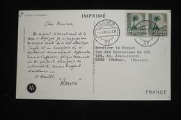 Tanger Maroc Espagnol  CP Publicitaire Amora   (idem Ionyl)  1953