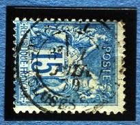 Sage N°90.Type II Ob.(CAD ) PARIS Rue Des Ecluses St Martin 7 Juin 1879.( Bur 39 )
