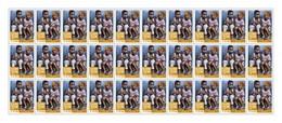 Sierra Leone 2016, Street Child, Yellow, Sheetlet Of 30val