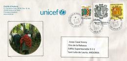UNICEF.ANDORRA, Lettre De La Principauté D'Andorre