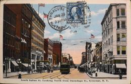 CPA - ETATS-UNIS - La Ville Américaine De Syracuse Est Le Siège Du Comté D'Onondaga, Dans L'État De New York -1917 - Syracuse