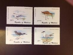 Maldives 1980 Birds 4 Values MNH
