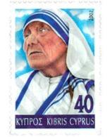 Ref. 101523 * MNH * - CYPRUS. 2002. 5 ANIVERSARIO DE LA MUERTE DE LA MADRE TERESA