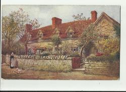 W.W. Quatremain    *  Mary Arden's Cottage, Stratford-on-Avon - Illustrators & Photographers