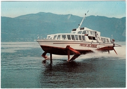 BARCHE - LAGO MAGGIORE - ALISCAFO FRECCIA DEL VERBANO - 1971 - Vedi Retro - Barche