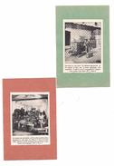 EX LIBRIS   (2)  INDUSTRIE DU BOUCHON : Le Pressage Des Balles - Le Triage Des Bouchons - - Ex-libris