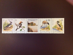 Yugoslavia 1991 Birds MNH