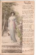 VIENNE - Femme En Costume - Poéme NAKI - Dos Simple - Vienne
