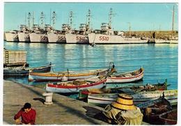 BARCHE - RIVIERA DEI FIORI - SANREMO - NAVI IN PORTO - 1971 - Vedi Retro - Barche
