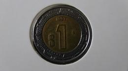 Mexico - 1997 - 1 Peso - KM 603 - VF - Look Scans - Mexiko