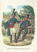 Postillione Der Königlich Preußishen Post 1850.  Germany      # 05665 - Postal Services