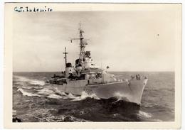 BARCHE GUERRA - MILITARI - CACCIATORPEDINIERE INDOMITO - 1960 - Vedi Retro - Warships