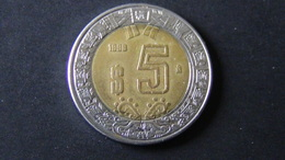 Mexico - 1998 - 5 Pesos - KM 605 - VF - Look Scans - Mexiko