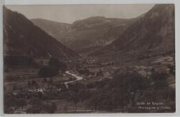 Valle De Bagnes - Montagnier Et Chable - Photo: Perrochet-Matile No. 3739