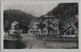 Hotel-Restaurant Mit Landwirtschaftsbetrieb Zum St. Joseph A. Stalder, Gänsbrunnen