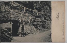 Balmgrotte Sur Le Passage De La Gdemmi - Animee - Photo: C.F. Fay