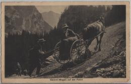 Gemmi-Wagen Auf Der Fahrt - Animee - Photo: Flück No. 600