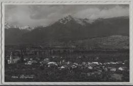 Bramois - Vue Generale - Photo: Perrochet No. 11804