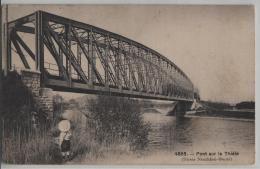 Pont Sur La Thiele - Animee - Phototypie No. 4865
