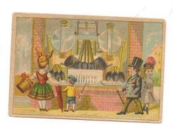 CHROMO  DEVANT LE MAGASIN  -( RARE EDITION  ) - Trade Cards