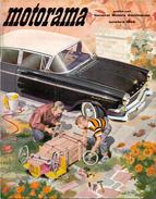 Magazine - Tijdschrift Motorama - General Motors Continental - Pub Reclame GM - Vauxhall - Opel Kapitan  10 / 1958 - Auto
