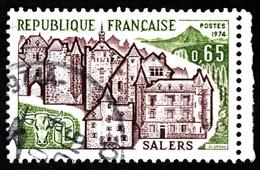 FRANCE 1974  -  Y&T  1793  - Salers -  Oblitéré