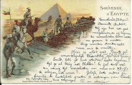 Egypte/Egypt Litho 1901