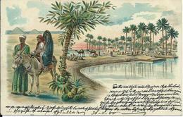 Egypte/Egypt Litho 1900