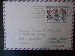 Cote D Ivoire Lettre D Abidjan 1978 Pour Munster
