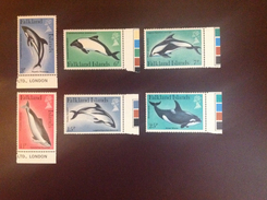 Falkland Islands 1980 Dolphins MNH