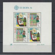 PORTUGAL. YT Bloc 33 Neuf ** Europa. Folklore 1981