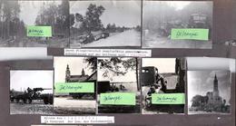 8 PHOTOS ORIGINALES A BIALYSTOK EN 1942 - GUERRE WW2 - MILITARIA - Guerre, Militaire