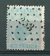 18 Gestempeld PT 253 MONT-ST-GUIBERT - COBA 6,00 - 1865-1866 Profile Left