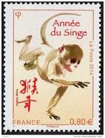 France Mammifere Singe N° 5031 ** Nouvel An Chinois - Le Timbre De L´année