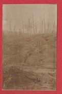 Carte Photo  -- Fosses Schlucht  --  Position Détruite  --  Feld Postkarte - France