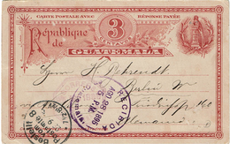 LBR38 - GUATEMALA EP CP CIRCULEE   AOÛT 1895 - Guatemala