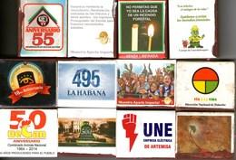Fiammiferi Cerini Fosforos Originali In Scatolette Cuba - Scatole Di Fiammiferi