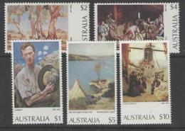 AUSTRALIA SG565/7a 1974 PAINTINGS MNH
