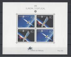 PORTUGAL. YT Bloc 79 Neuf ** Europa. L'Europe Et L'espace 1991