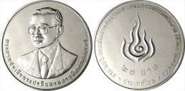 """TAILANDIA  20  BAHT  NICKEL  2.013   """"60º Aniversario Del Departamento De Desarrollo De Energia""""    SC/UNC   T-DL-10.616 - Tailandia"""