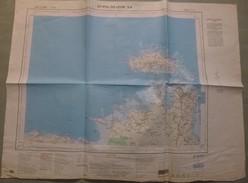Carte I.G.N. : St-POL-de-LEON N° 3-4 - 1 / 25 000ème - 1974. - Topographical Maps