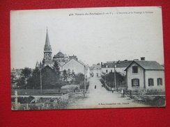 35 - MAURE DE BRETAGNE - L' ARRIVEE ET LE PASSAGE A NIVEAU - - Andere Gemeenten