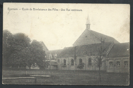 +++ CPA - BEERNEM - Ecole De Bienfaisance Des Filles - Vue Extérieure  //
