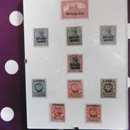 LOT  MEMEL  ADMINISTRATION  FRANCAISE  TIMBRES  NEUFS  10  VALEURS - Memel (1920-1924)