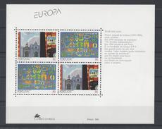 PORTUGAL. YT Bloc 94 Neuf ** Europa. Art Contemporain 1993