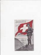Armépe Suisse ... Occupation Frontières  - 1914 - Weltkrieg 1914-18