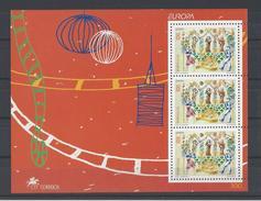 PORTUGAL. YT Bloc 142 Neuf ** Europa. Festivals Nationaux, Fêtes Nationales, Fêtes Des Saints Populaires 1998
