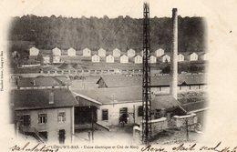 72Bv   54 Longwy Bas Usine électrique Et Cité De Mexy En 1903 - Longwy